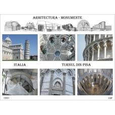 mec52 - Turnul din Pisa - Italia - bloc n