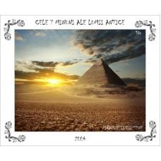 mec836 - Cele 7 minuni ale lumii antice - Piramidele egiptene - colita n