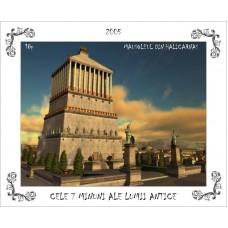 mec893 - Cele 7 minuni ale lumii antice - Mausoleul din Halicarnas - colita n