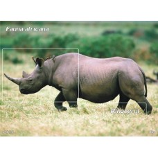 mec932 - Fauna africana - Rinocerul - colita n