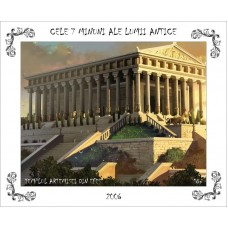 mec957 - Cele 7 minuni ale lumii antice - Templul Artemisei din Efes - colita n