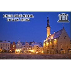 mec1004 - UNESCO - Centrul Istoric Medieval din Tallin - Estonia - colita n