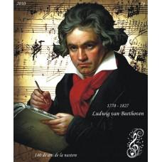 mec1211 - Ludwig van Beethoven - 140 de ani de la nastere - colita n