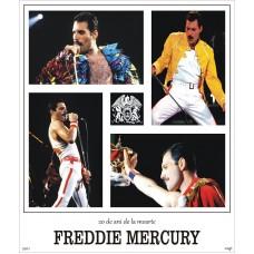 mec1283 - Freddie Mercury - 20 ani de la moarte - bloc n