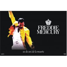 mec1284 - Freddie Mercury - 20 ani de la moarte - colita n