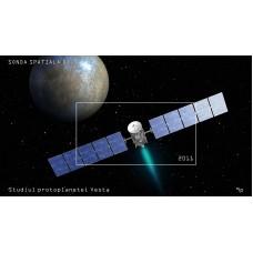 mec1285 - Sonda spatiala Dawn - Studiul protoplanetei Vesta - colita n