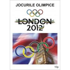 mec1325 - Jocurile Olimpice de vara Londra 2012 - colita n
