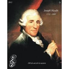 mec1352 - Joseph Haydn - 280 de ani de la nastere - colita n