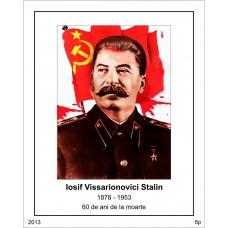 mec1360 - 60 de ani de la moartea lui I.V. Stalin - colita n