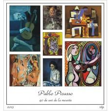 mec1375 - Pablo Picasso - 40 de ani de la moarte - bloc n