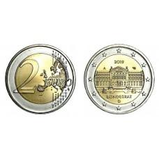 Germania 2019 - 2 Euro comemorativa - Bundesrat - Cal 1