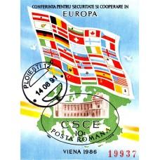 1168 - Conferinta pentru Securitate si Cooperare in Europa - Viena 86 - colita ns
