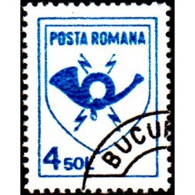 1253 - Emblema postei - serie s