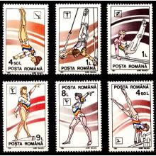 1254 - Gimnastica - serie