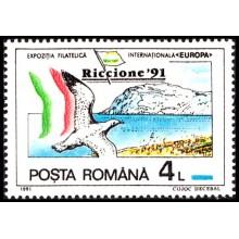 1256 - Targul Filatelic International Riccione - serie