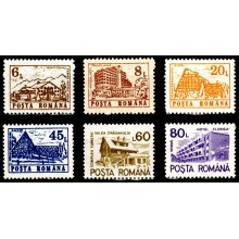 1266 - Hoteluri si cabane (uzuale III) - serie