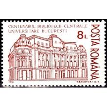 1272 - Centenarul Bibliotecii Centrale Universitare - serie