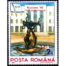 1323 - Expozitia filatelica Riccione 93 - supratipar - serie