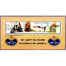 Angola 2000 - A 25-a aniversare a Radioului National - bloc