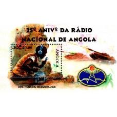 Angola 2000 - A 25-a aniversare a Radioului National - colita