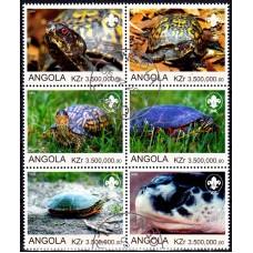 Angola 2000 - Broaste testoase - serie sb