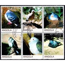 Angola 2000 - Porumbei - serie sb