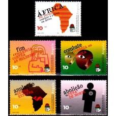 Angola 2002 - Congresul Comitetelor Socialiste Africane - serie